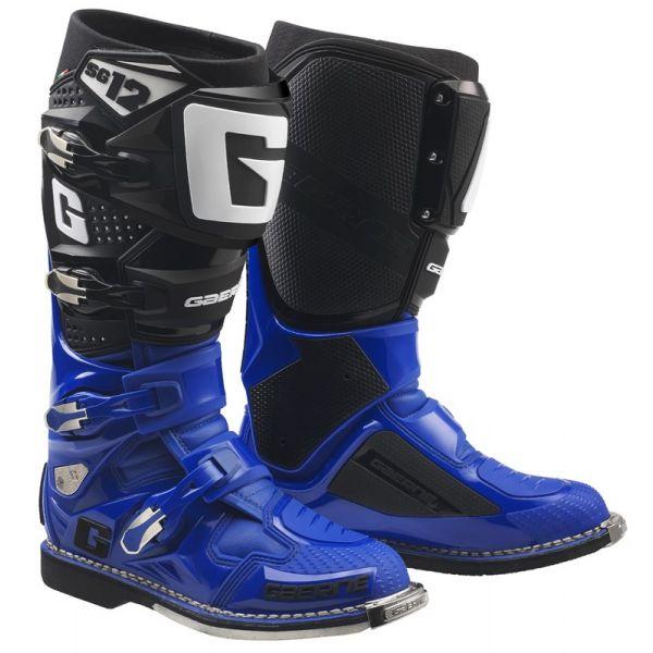 Cizme MX-Enduro Gaerne Cizme SG12 Blue/Black 2019