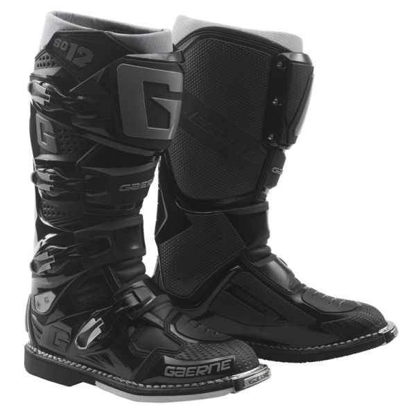 Cizme MX-Enduro Gaerne Cizme SG12 Enduro Black 2019
