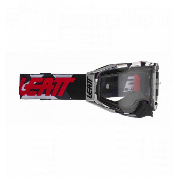 Ochelari MX-Enduro Leatt Ochelari Moto MX Velocity 6.5 Enduro JW22 Lentila Clara 2021