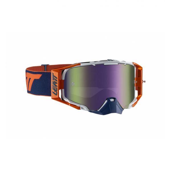 Ochelari MX-Enduro Leatt Ochelari Moto MX Velocity 6.5 Iriz Orange/Ink Purple 30% NS 2021