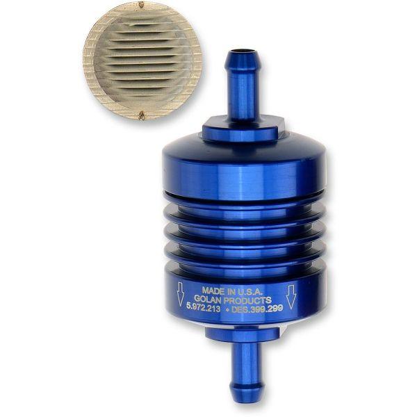 Filtre Benzina Golan Products Peak Flow Mini FILTRU BENZINA 5/16 Albastru