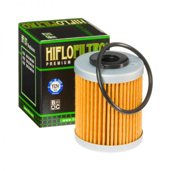 Filtre ulei Hiflofiltro FILTRU ULEI HF157 KTM 00-11 SCURT