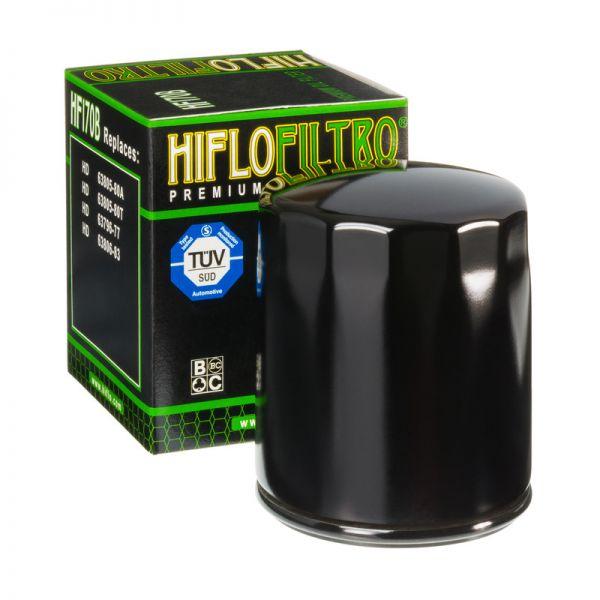 Filtre Ulei Strada Hiflofiltro FILTRU ULEI HF170B (NEGRU)