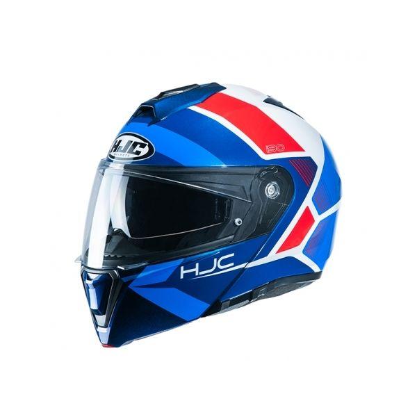 Casti Moto Flip-up (Modulabile) HJC Casca Flip-Up I90 Hollen Albastru 2020