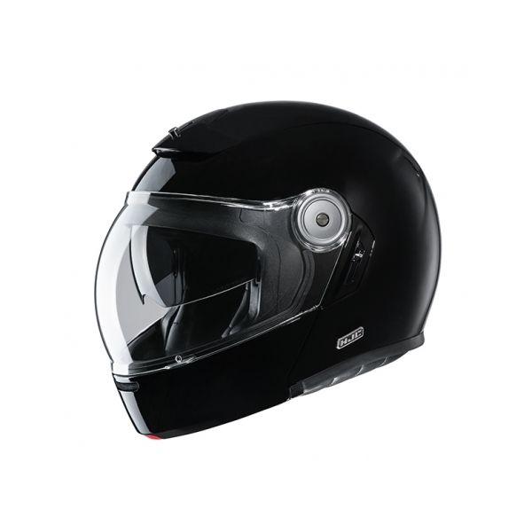 Casti Moto Flip-up (Modulabile) HJC Casca Flip-Up V90 Solid Negru 2020