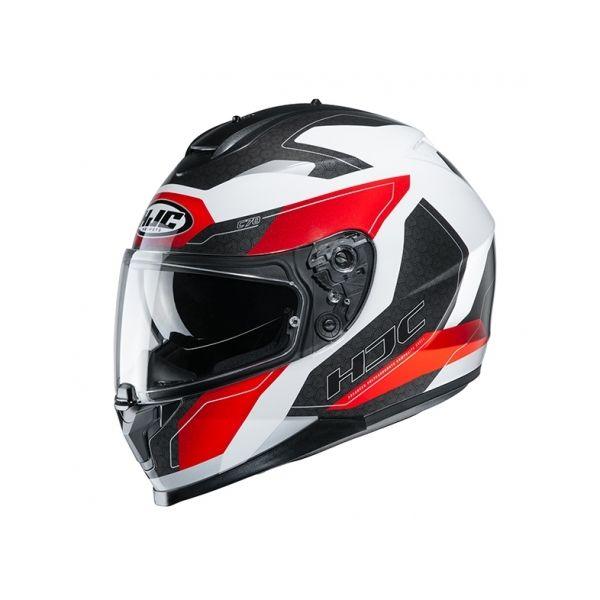 Casti Moto Integrale HJC Casca Full-Face C70 Canex Rosu 2020