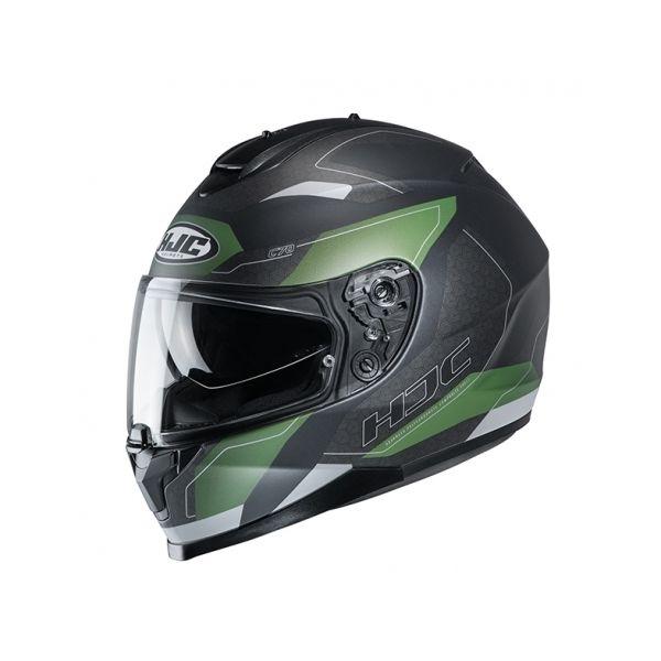 Casti Moto Integrale HJC Casca Full-Face C70 Canex Verde 2020