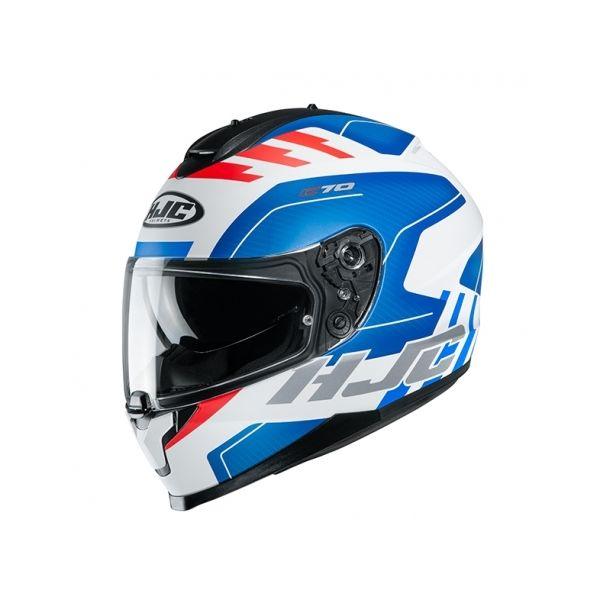 Casti Moto Integrale HJC Casca Full-Face C70 Koro Albastru 2020