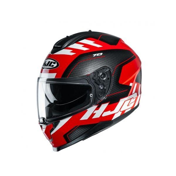 Casti Moto Integrale HJC Casca Full-Face C70 Koro Rosu 2020