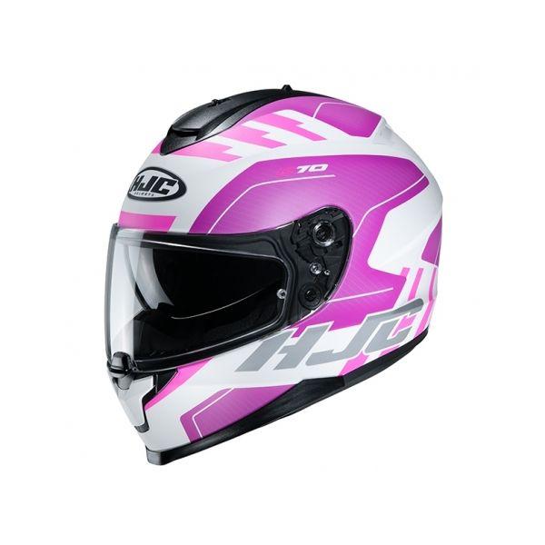 Casti Moto Integrale HJC Casca Full-Face C70 Koro Roz 2020