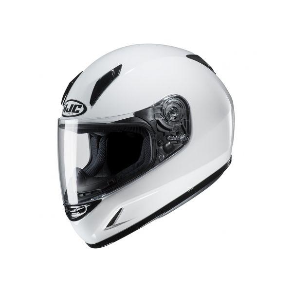 Casti Moto Integrale HJC Casca Full-Face Copii CL-Y Solid Alb 2020