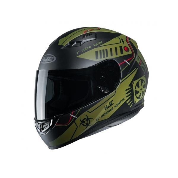 Casti Moto Integrale HJC Casca Full-Face CS-15 Tarex Verde 2020