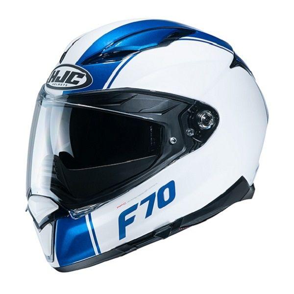 Casti Moto Integrale HJC Casca Full-Face F70 Mago Albastru 2020