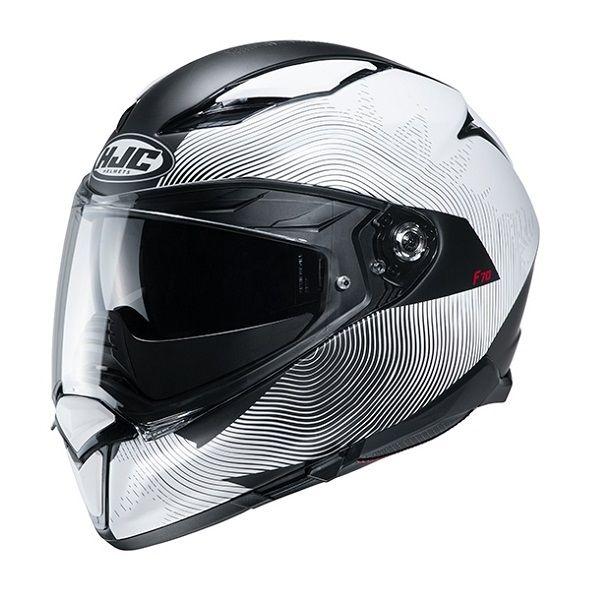 Casti Moto Integrale HJC Casca Full-Face F70 Samos Alb 2020