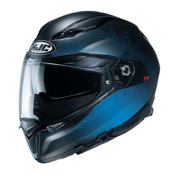 Casti Moto Integrale HJC Casca Full-Face F70 Samos Albastru 2020