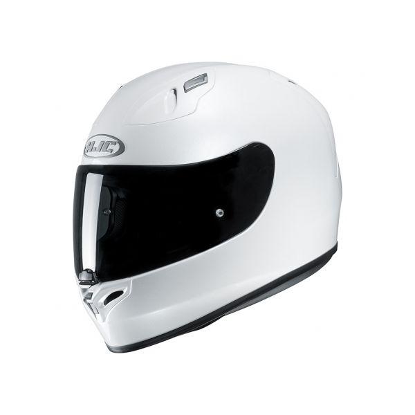 Casti Moto Integrale HJC Casca Full-Face FG-17 Solid Alb 2020