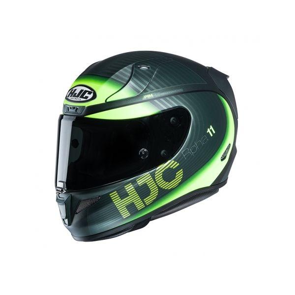 Casti Moto Integrale HJC Casca Full-Face RPHA 11 Bine Verde 2020