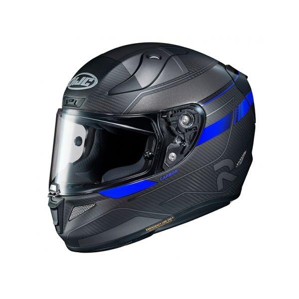 Casti Moto Integrale HJC Casca Full-Face RPHA 11 Carbon Nakri Albastru 2020