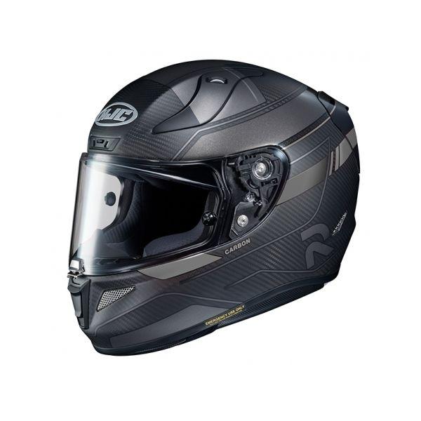 Casti Moto Integrale HJC Casca Full-Face RPHA 11 Carbon Nakri Argintiu 2020