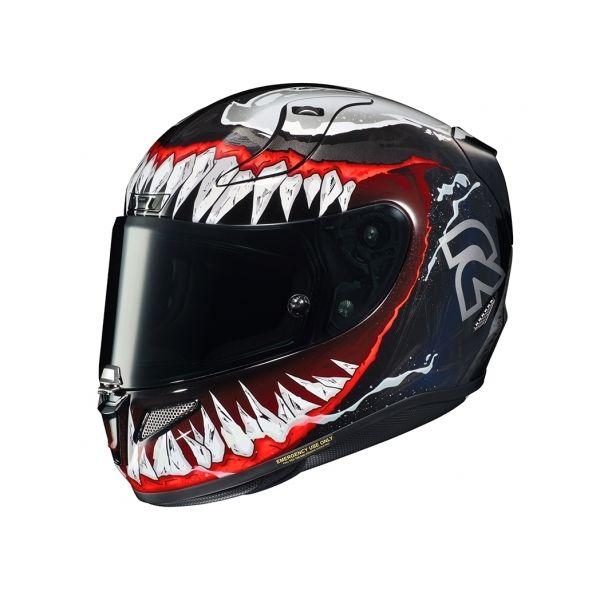 Casti Moto Integrale HJC Casca Full-Face RPHA 11 Venom 2 Marvel Rosu 2020