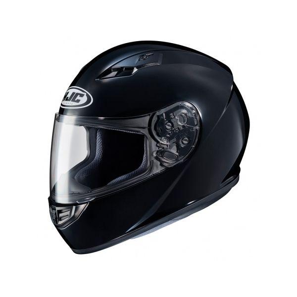 Casti Moto Integrale HJC Casca Moto Full-Face CS-15 Solid Black Glossy 2022