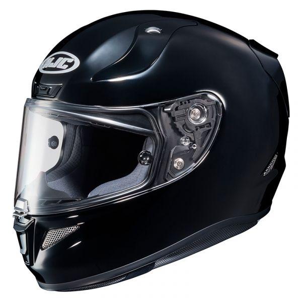 Casti Moto Integrale HJC Casca Moto Full-Face RPHA 11 Solid Black Glossy 2022