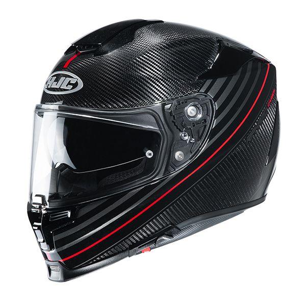 Casti Moto Integrale HJC Casca Moto Full-Face RPHA 70 Carbon Artan Red