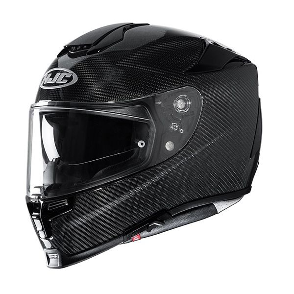 Casti Moto Integrale HJC Casca Moto Full-Face RPHA 70 Carbon Solid Black 2022