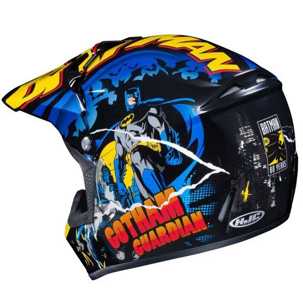 Cizme MX-Enduro Copii HJC Casca Moto MX Copii CL-XY II Batman Black 2022