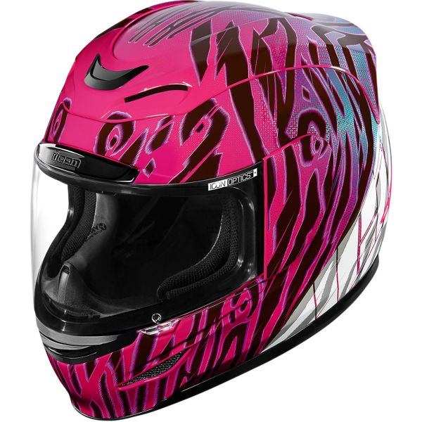 Casti Moto Integrale Icon Casca Airmada Wild Child Purple