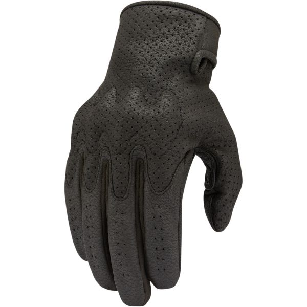 Manusi Moto Sport si Piele Icon Manusi Moto Piele Airform Ce Gloves Black 2021