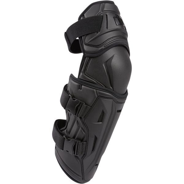 Genunchiere Moto Strada Icon Protectii Moto Genunchi Field Armor 3 Negru