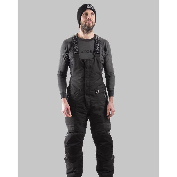 Pantaloni Snow Tobe Pantaloni Snow Thunsulated Bib Hoback Jet Black 2022