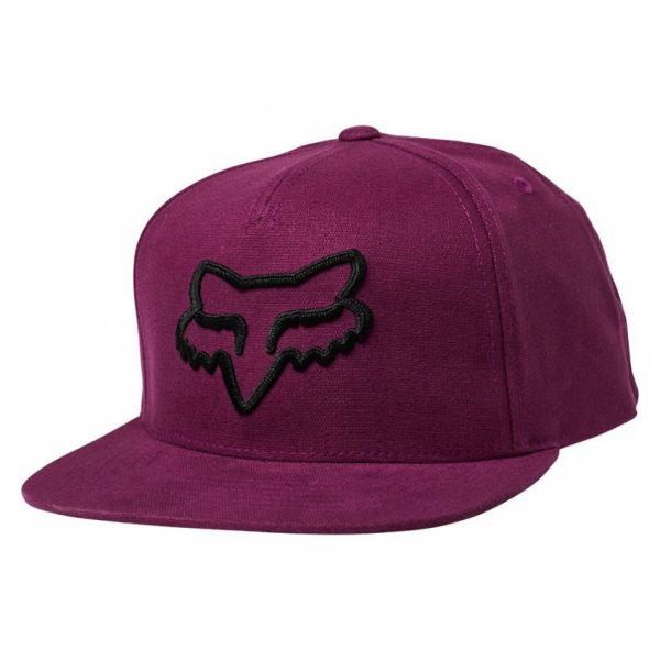 Sepci Fox Sapca Instill Snapback Dark Purple