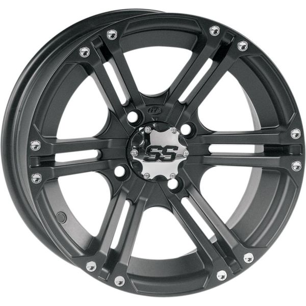 Jante ATV/UTV ITP JANTA SS ALLOY SS 212 MATTE BLACK FINISH 12x7 BOLT PATTERN 4/110 OFFSET 5+3