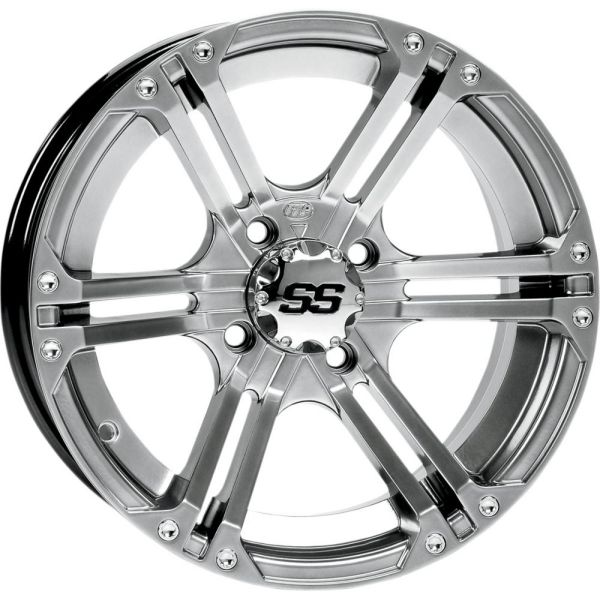 Jante ATV/UTV ITP JANTA SS ALLOY SS 212 PLATINUM FINISH 14x8 BOLT PATTERN 4/137 OFFSET 5+4