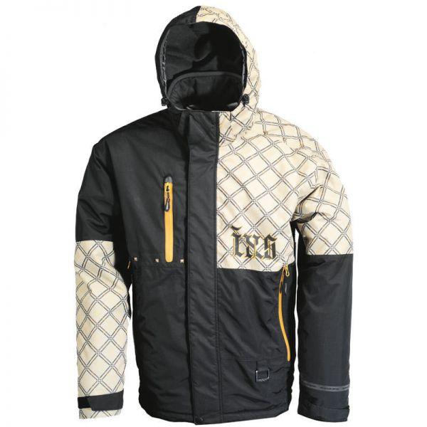 Geci Snowmobil IXS LICHIDARE STOC Geaca Square Black/Yellow