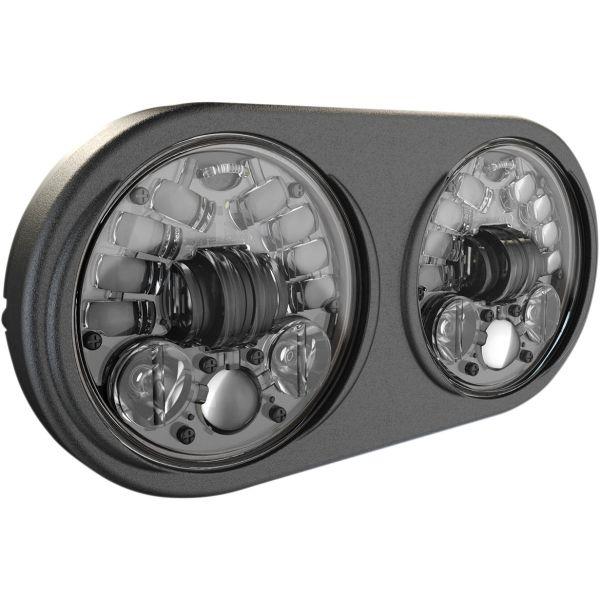 Faruri Moto LED J.W. SPEAKER Far LED Adap2 Fltr Blk
