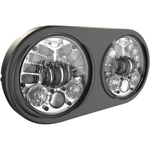 Faruri Moto LED J.W. SPEAKER Far LED Adap2 Fltr Chr