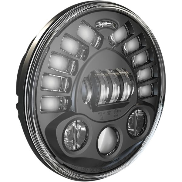Faruri Moto LED J.W. SPEAKER Far LED Adap2 Ped Bk 7