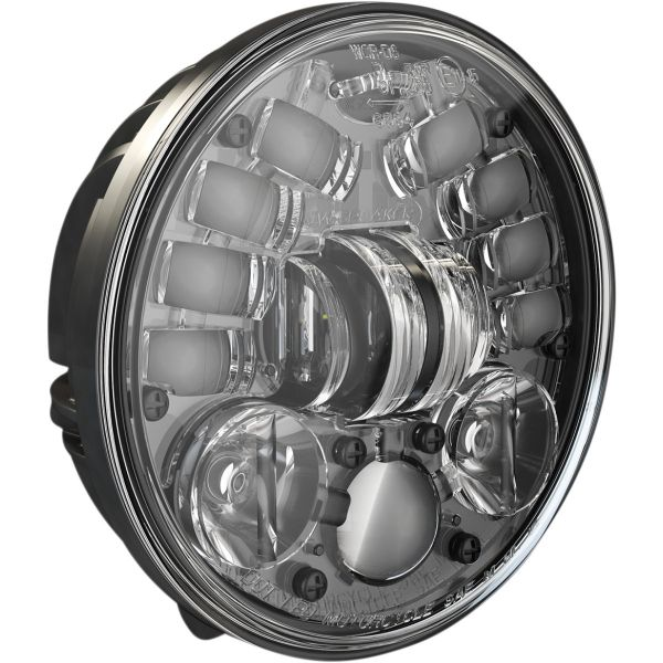 Faruri Moto LED J.W. SPEAKER Far LED Hdlight Adap2 Ped Bk 5.75