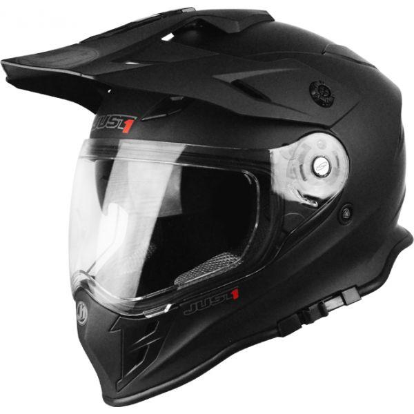 Casti ATV Just1 Casca ATV J34 Adventure Solid Matt Black 2021