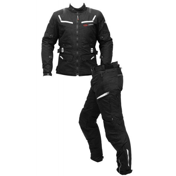 Combo Geaca/Pantalon ATV Jopa Combinezon ATV Geaca+Pantaloni Alpha Black