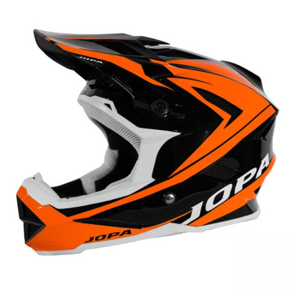 Casti MX-Enduro Copii Jopa Casca BMX Flash Black/Orange Copii