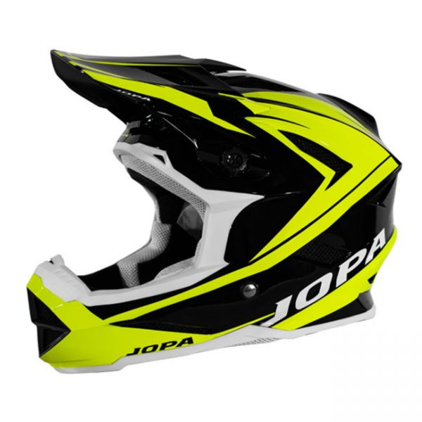 Casti MX-Enduro Copii Jopa Casca BMX Flash Black/Yellow Copii