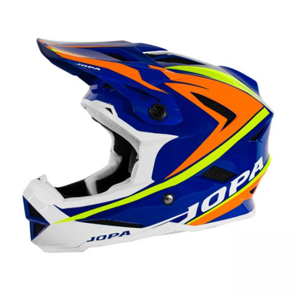 Casti MX-Enduro Copii Jopa Casca BMX Flash Blue/Orange Copii