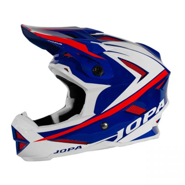 Casti MX-Enduro Copii Jopa Casca BMX Flash Blue/Red Copii
