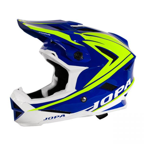 Casti MX-Enduro Copii Jopa Casca BMX Flash Blue/Yellow Copii