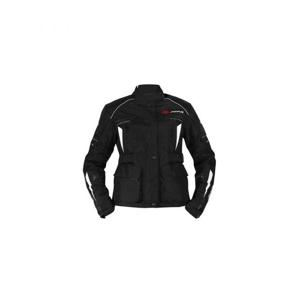 Combo Geaca/Pantalon ATV Jopa Combinezon ATV Dama Geaca+Pantaloni Omega V2 Black/White