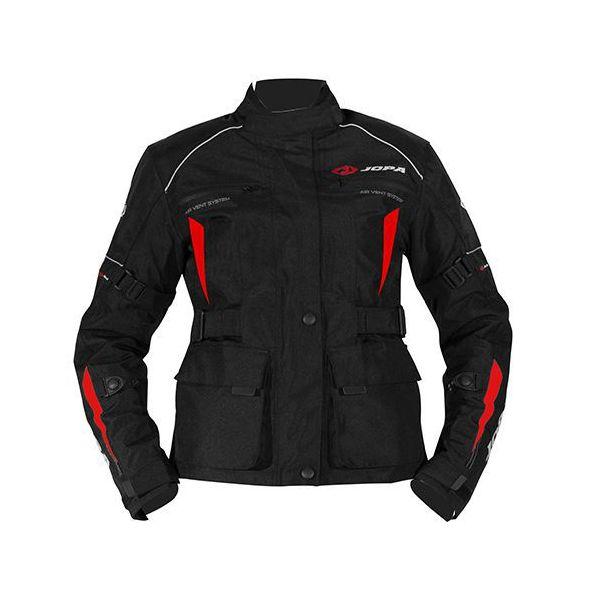Combo ATV Jopa Combinezon ATV Dama Geaca+Pantaloni Omega V2 Black/White